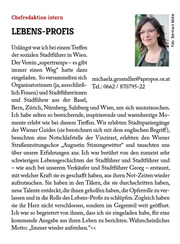 2017-11 Apropos_Chefredaktion intern_ Lebens-Profis