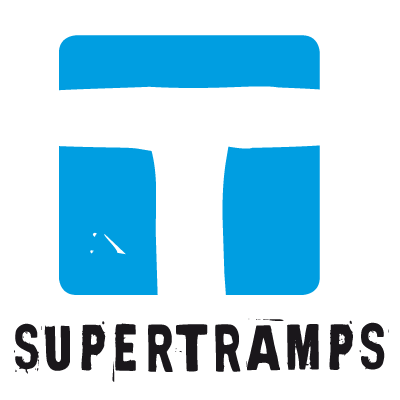 SUPERTRAMPS Logo quadrat